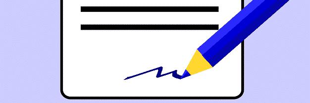 form sign