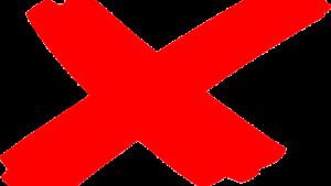 denied cosigner release x mark