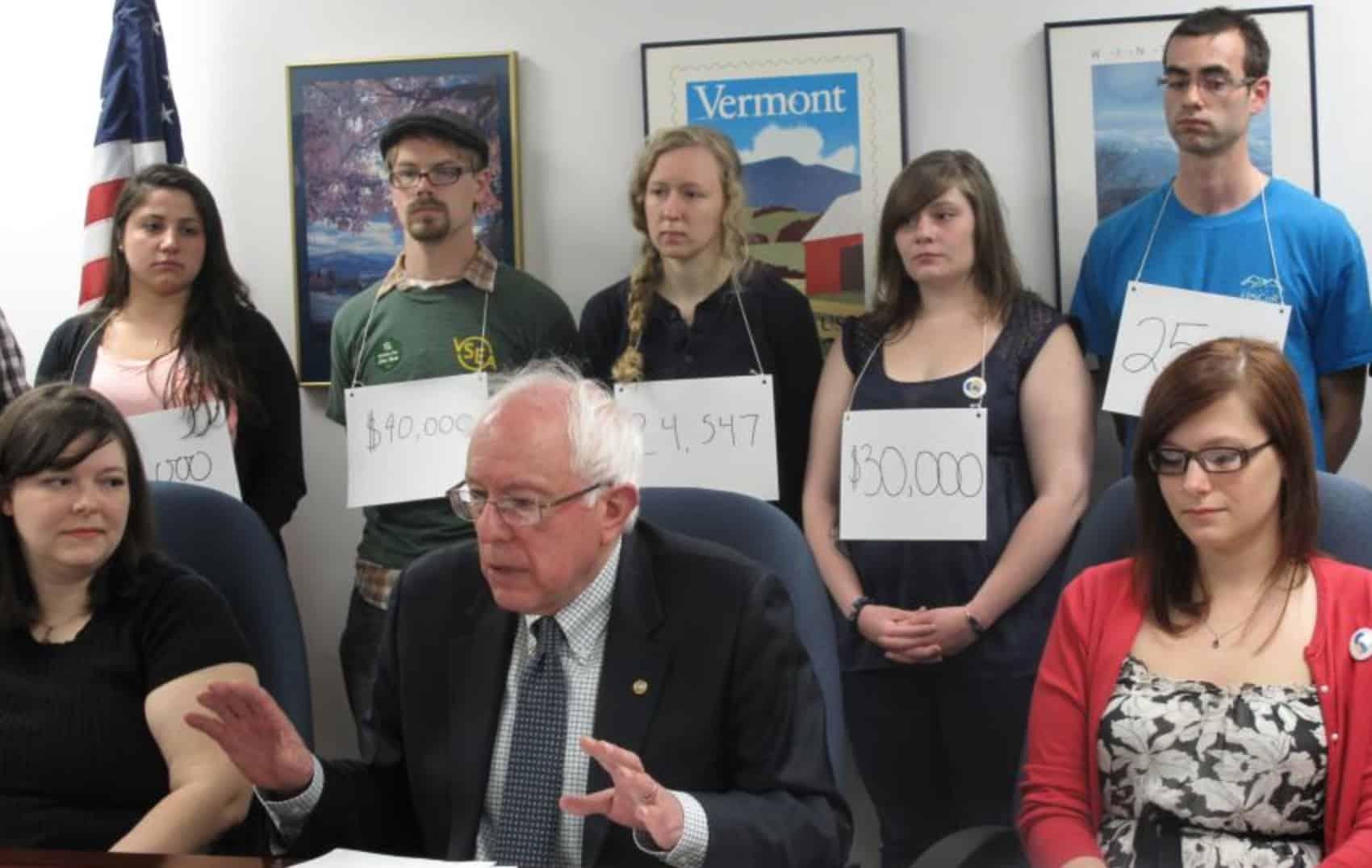 Bernie Sanders Student Loans
