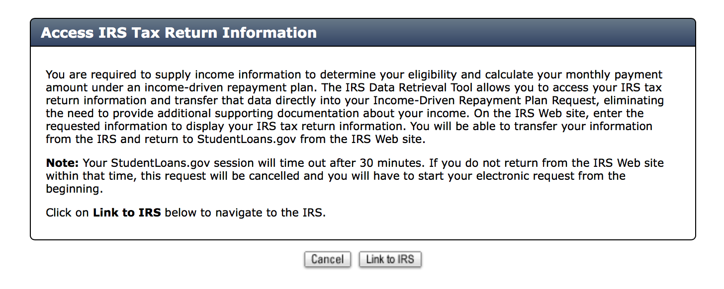 Guide to re certifying ibr and paye payments link to irs falaconquin