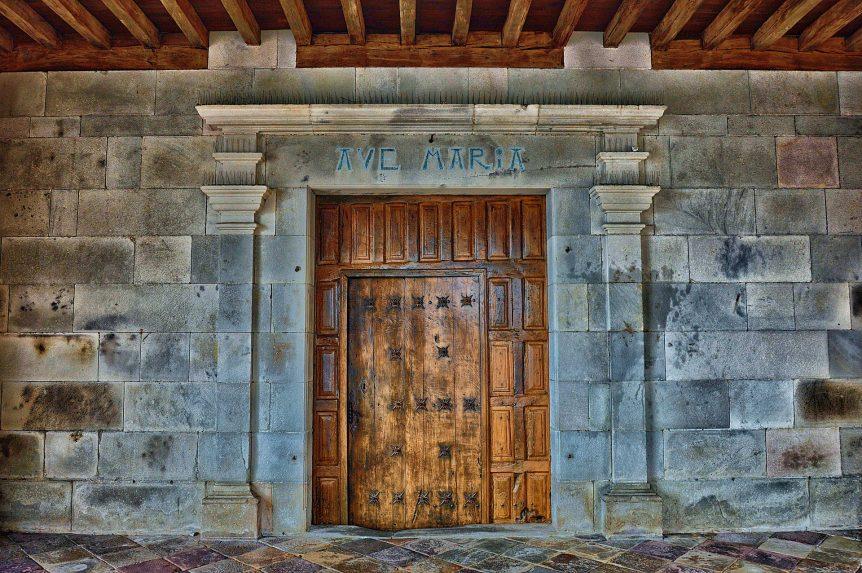 door of student debt