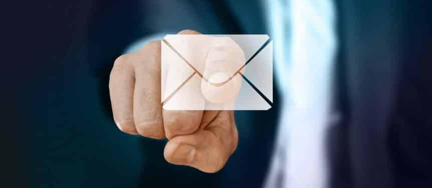 Send lenders email