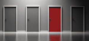 many doors to choose from but student loan borrowers must make tough decisions without knowing the other side of the door