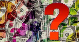 question mark dollars