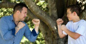 father parent child fight